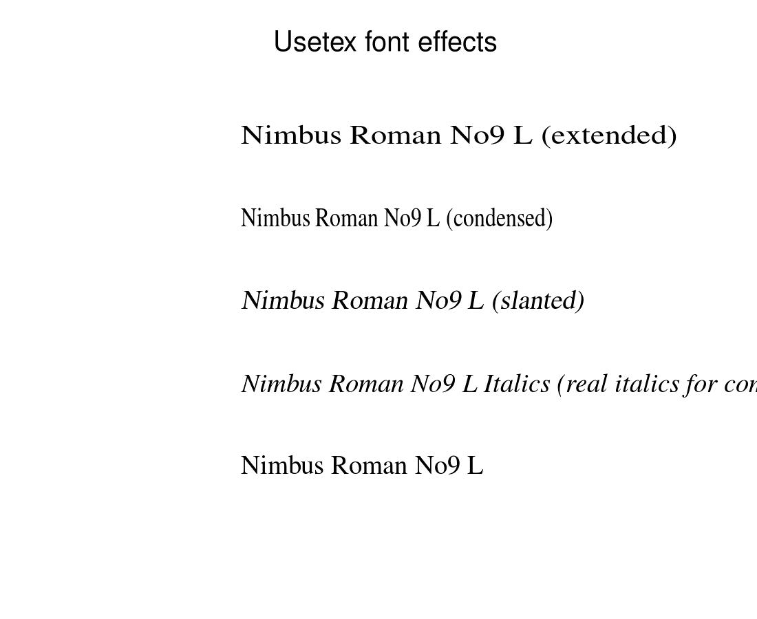 Pylabexamples Example Code Usetexfonteffects Matplotlib 12