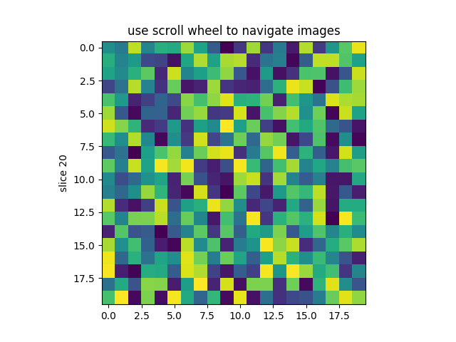 Image Slices Viewer — Matplotlib 3 1 0 documentation