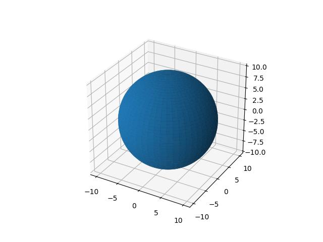 三维曲面(纯色)示例