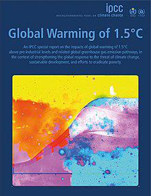 Cover page of the IPCC SR15